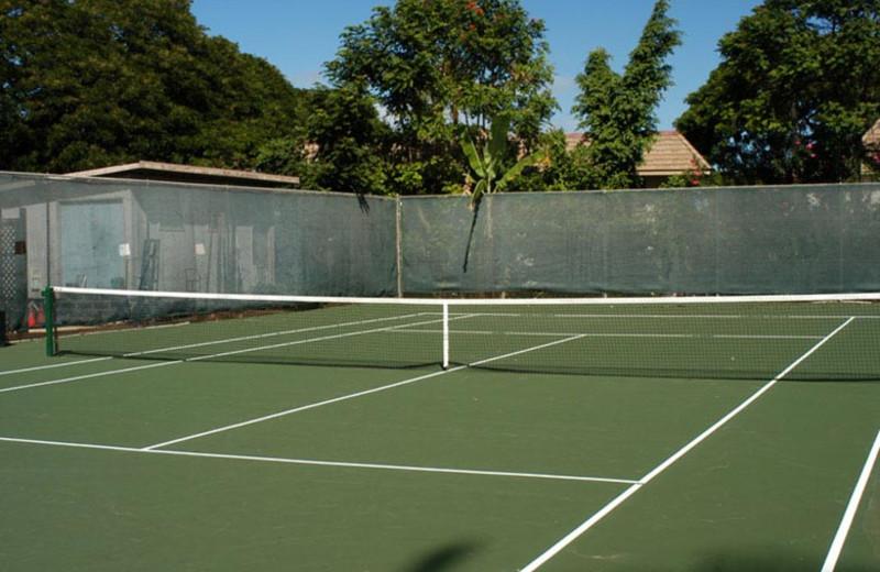 Tennis court at Kihei Akahi.