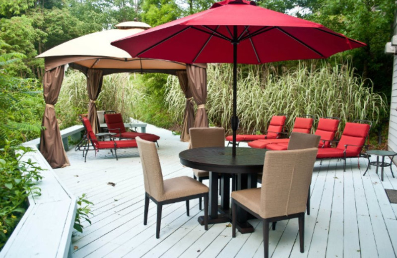 Outdoor Seating at Crestwood Resort & Spa