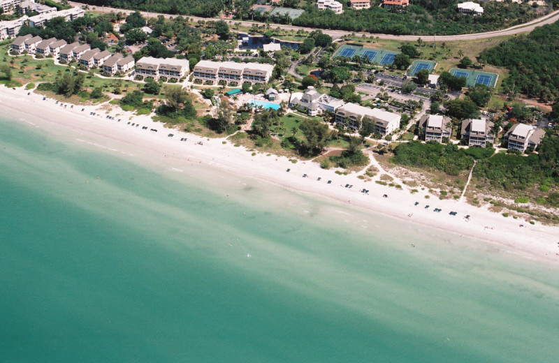 Aerial view of Casa Ybel Resort.