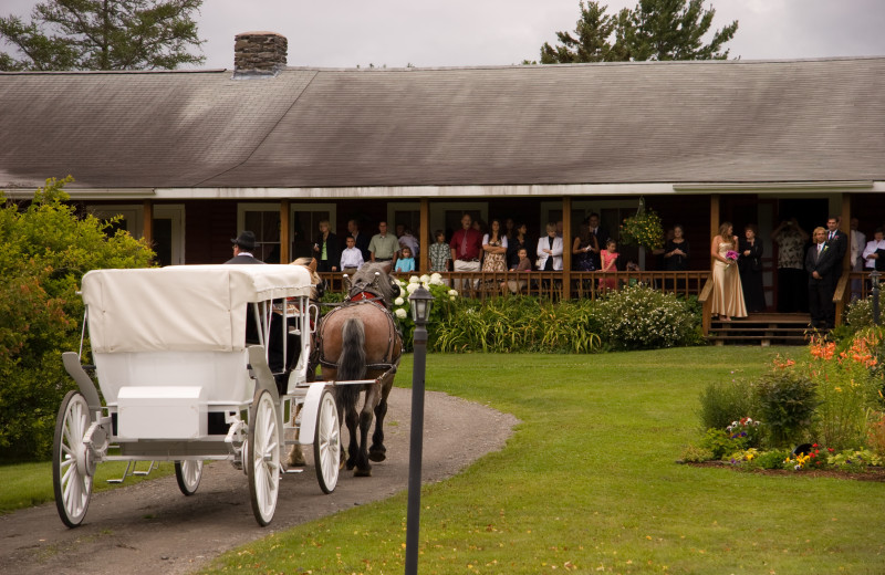 Jackson's Lodge, a quarter mile down a dirt road, offers a private, secluded, elegantly rustic country-style wedding venue including lakeside cabins on international Lake Wallace, Canaan, Vermont's Northeast Kingdom.