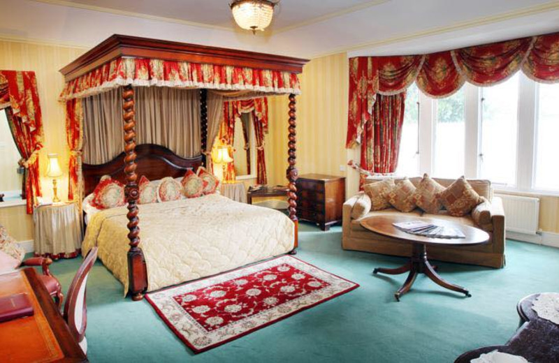 Guest room at Nailcote Hall Hotel, Golf and Country Club.