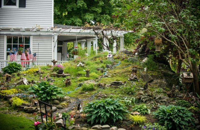 Garden at The Nonantum Resort.