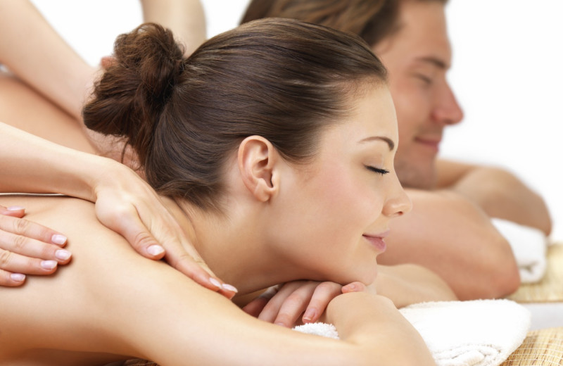 Couples massage at Town and Country Resort & Convention Center.