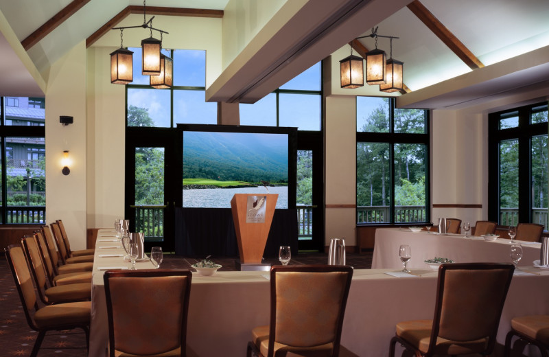 Meetings at Stowe Mountain Lodge.