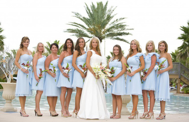 Wedding at The Palms of Destin Resort & Conference Center.