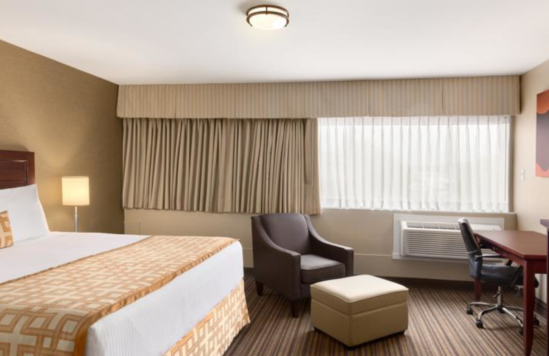 Guest room at Days Inn Terrace.