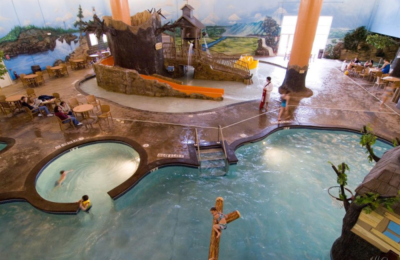 Waterpark at Holiday Inn Minneapolis.