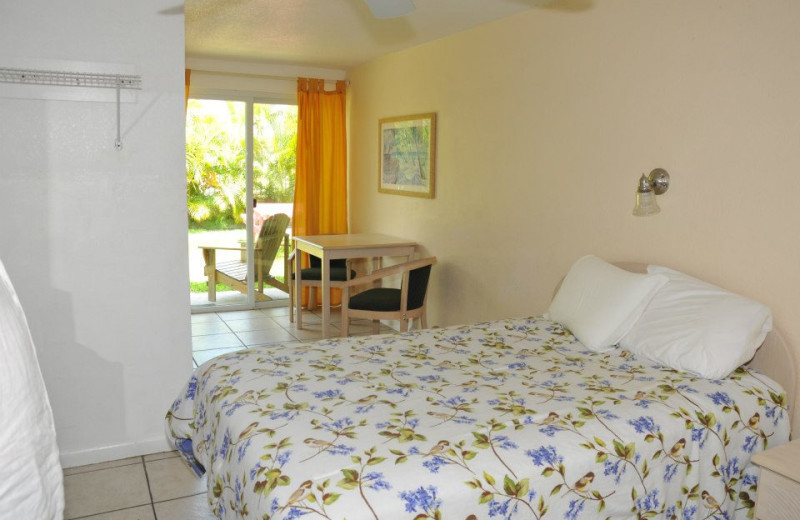 Guest Room at Coconut Cay Resort