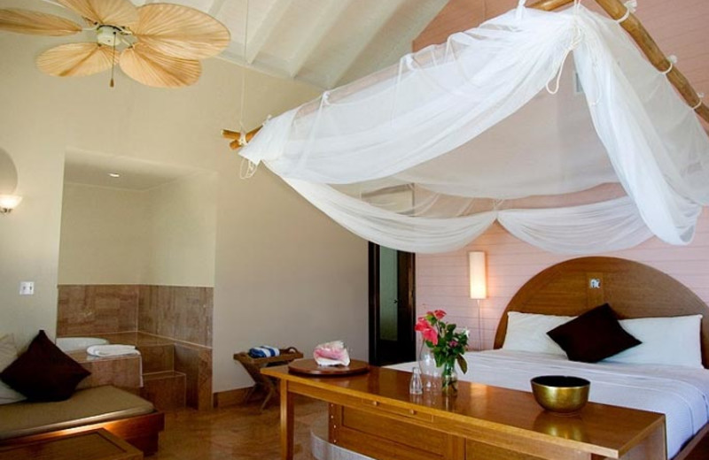 Guest room at Emerald Palms by the Sea.