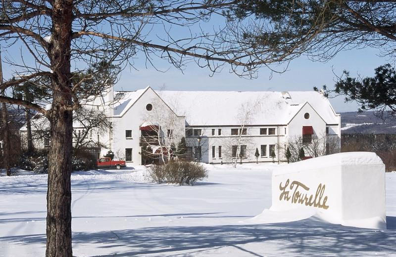 Winter time at La Tourelle Resort & Spa.