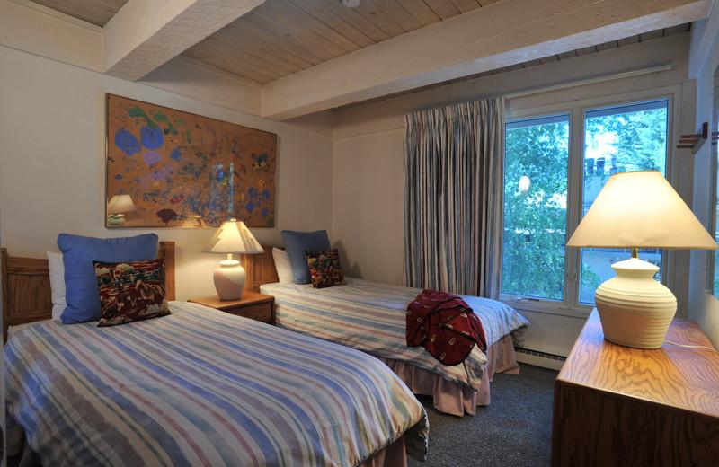 Rental bedroom at Frias Properties of Aspen - Chateau Roaring Fork #14.