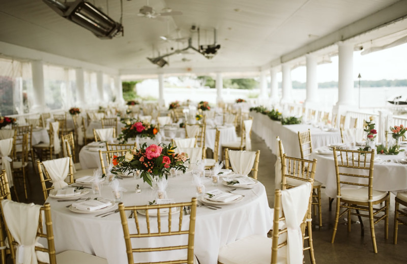 Weddings at Bay Pointe Inn Lakefront Resort.