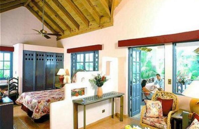 Guest room at Occidental Playa Dorada.