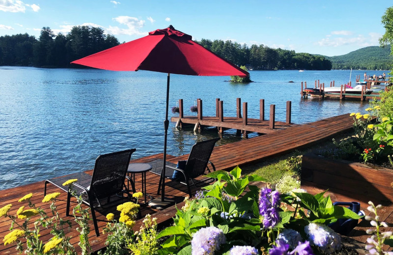 Rental lake view at Northern Living - Luxurious Vacation Rentals.