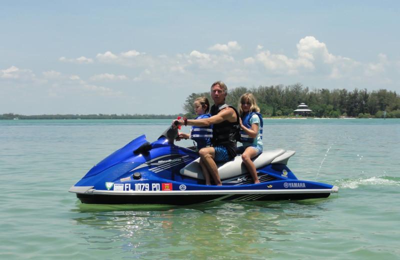Jet ski at Alecassandra Vacation Villas.