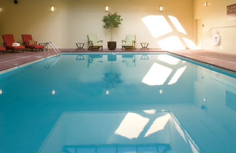 Indoor Swimming Pool at DoubleTree by Hilton Asheville