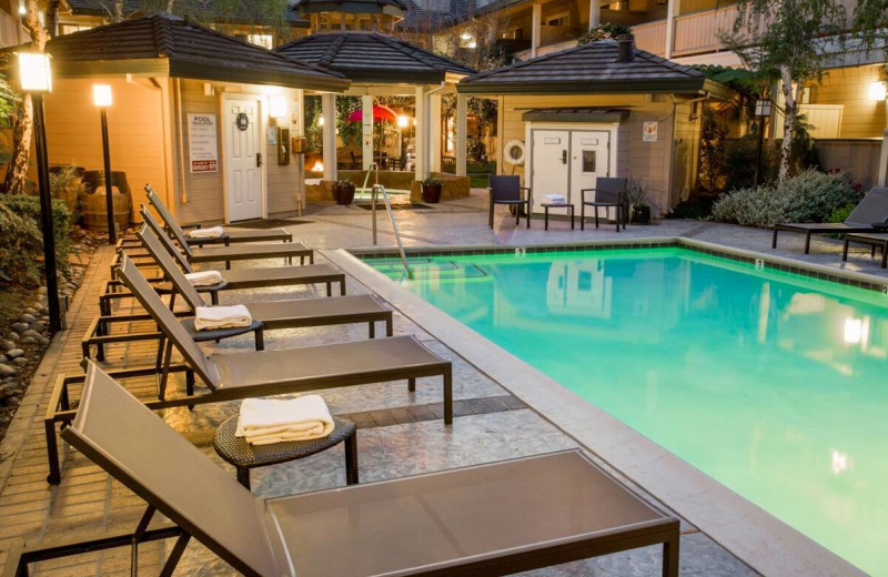 Outdoor pool at Best Western Sonoma Valley Inn & Krug Event Center.