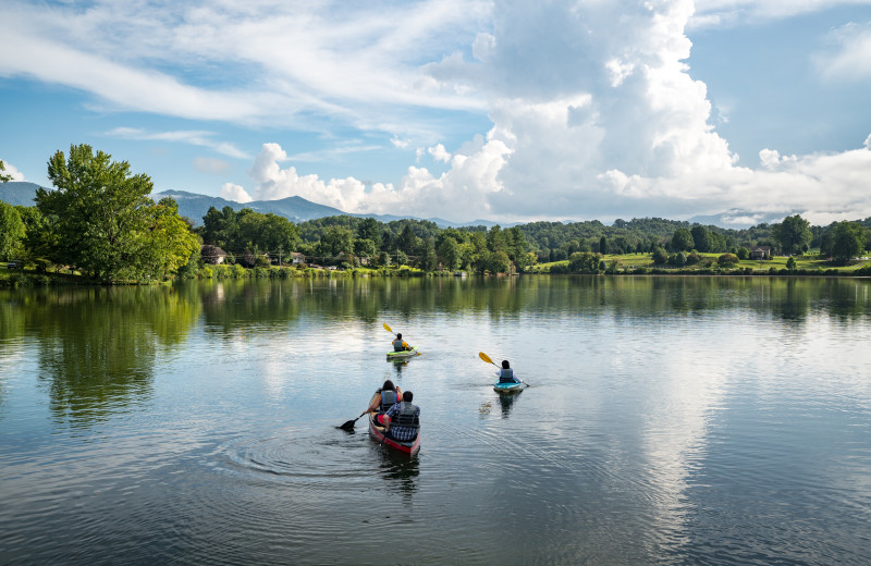 Take to the water in a canoe, kayak or paddle board at Lake Junaluska Conference and Retreat Center.