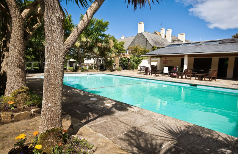 Outdoor pool at Renvyle House.