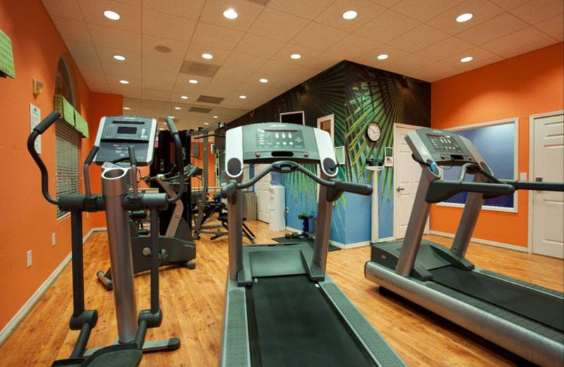 Fitness Room at the Hotel Indigo Houston at the Galleria