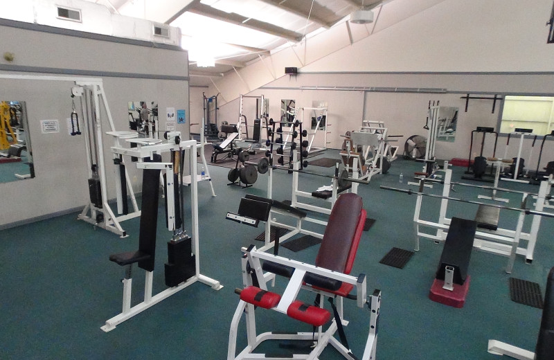 Fitness center at Villa Roma Resort.