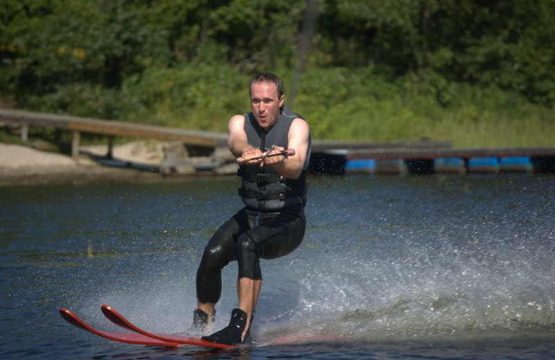 Water Skiing at Wawanaisa Resort
