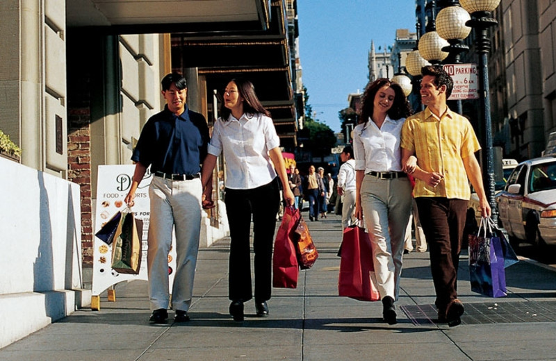 Shopping in San Francisco During Your Stay at America's Best Value Inn San Mateo/San Francisco