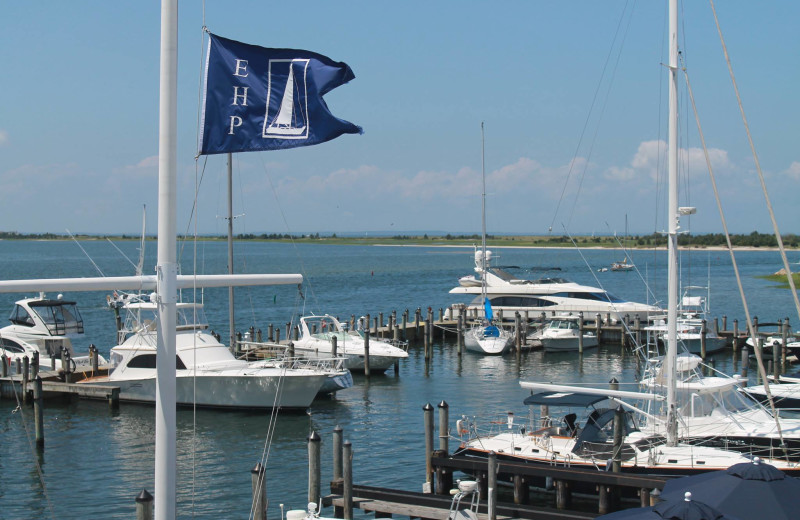 Marina at East Hampton Point and Marina.