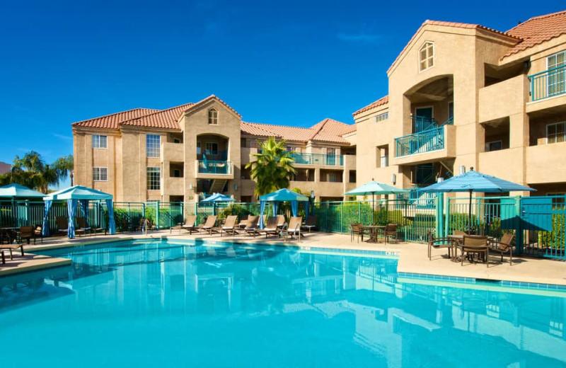 Outdoor pool at Hyatt Summerfield Suites Scottsdale/Old Town.