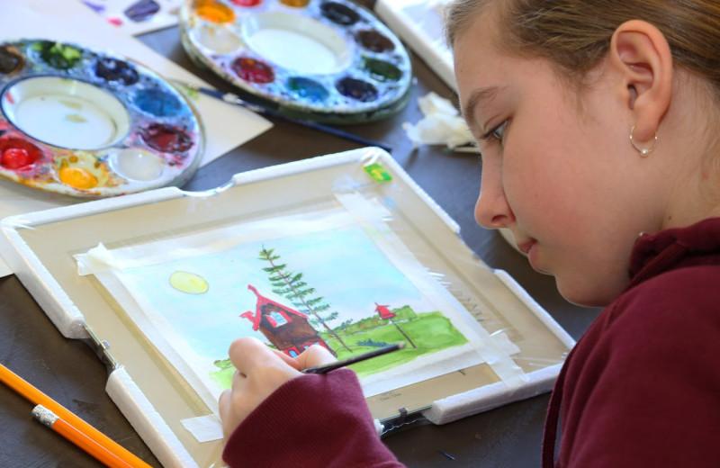 Kids programs at Bayview Wildwood Resort.