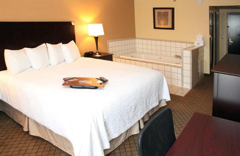Guest suite at Hampton Inn Rolla.