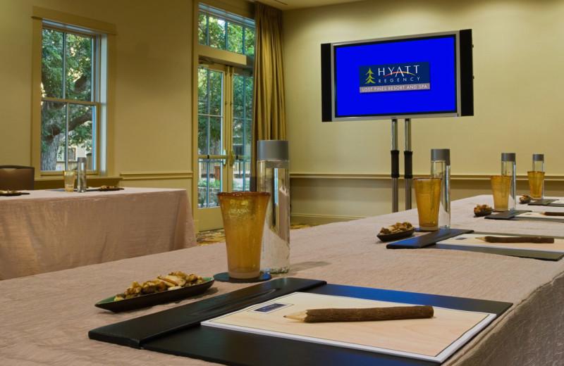 Conference  at Hyatt Regency Lost Pines Resort and Spa.
