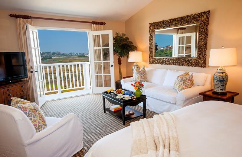 Guest room at Inn at Playa del Rey.