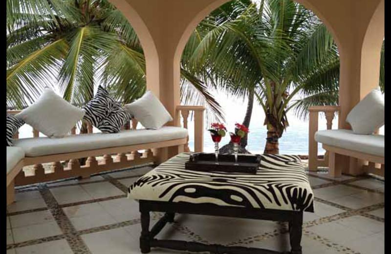 Patio at Casa Tortuga.