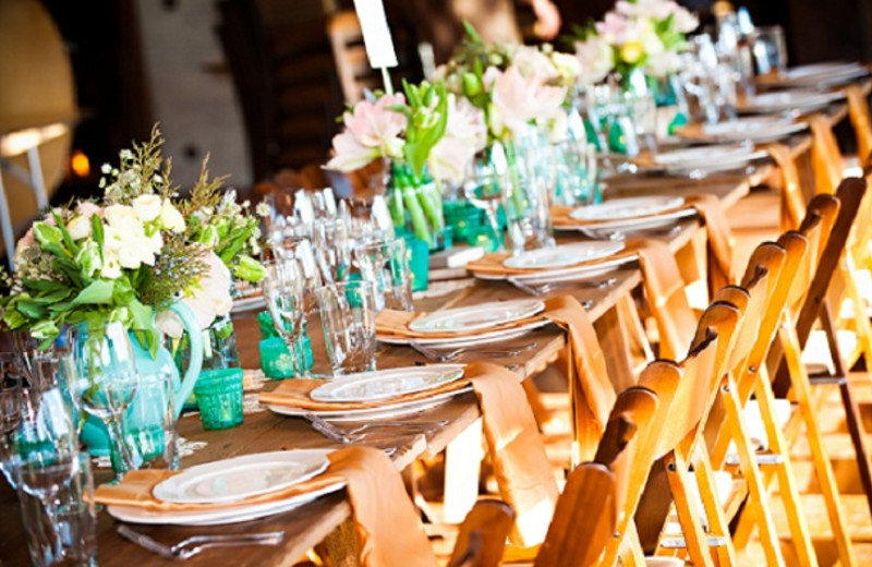 Wedding Reception at Brasada Ranch