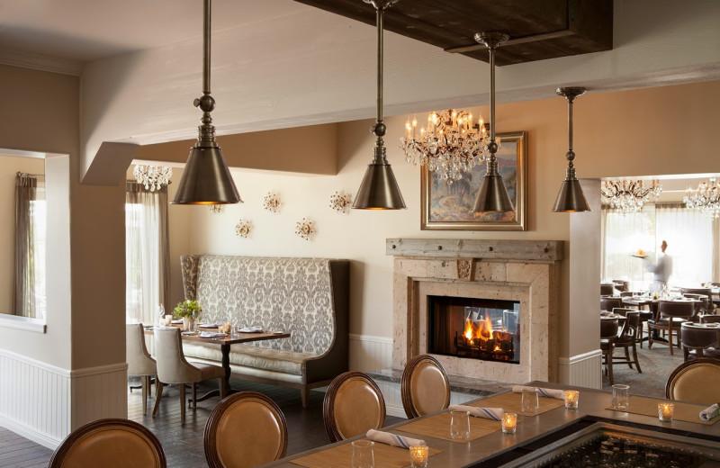 Dining at The Inn at Rancho Santa Fe.