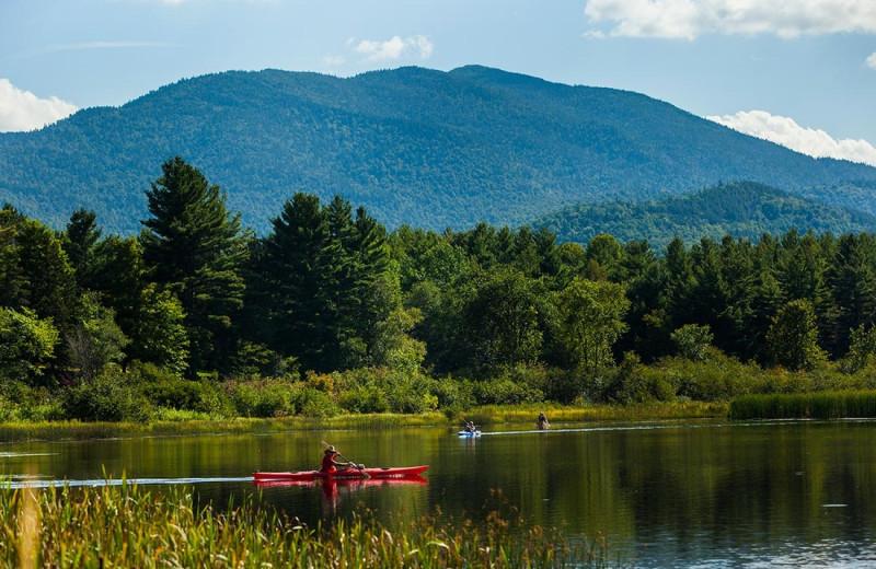 Kayaking at Owaissa Club Vacation Rentals.