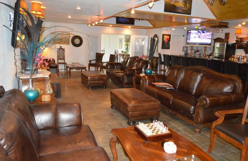 Lounge at Echo Canyon Spa Resort.