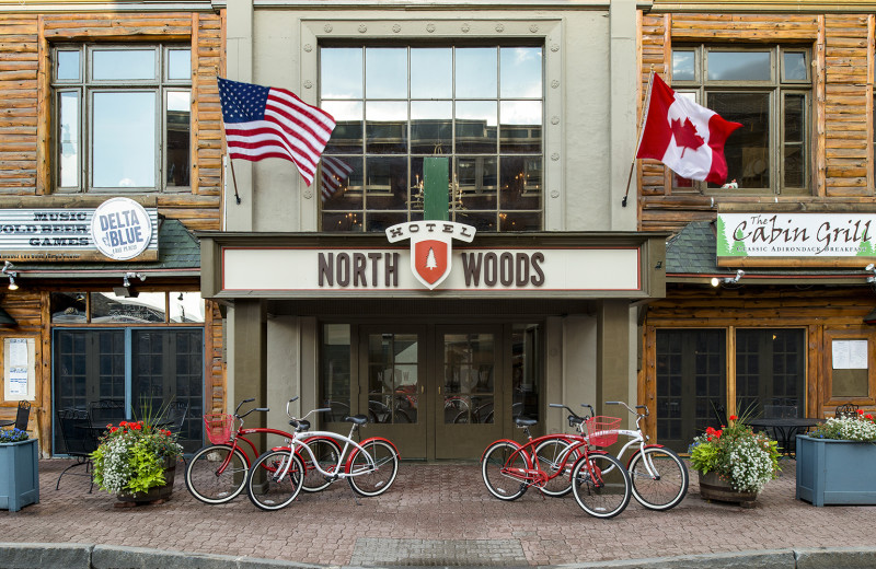 Exterior view of Northwoods Inn.