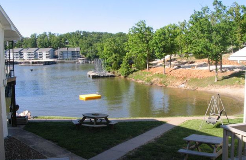 Resort lake view at Robin's Resort.