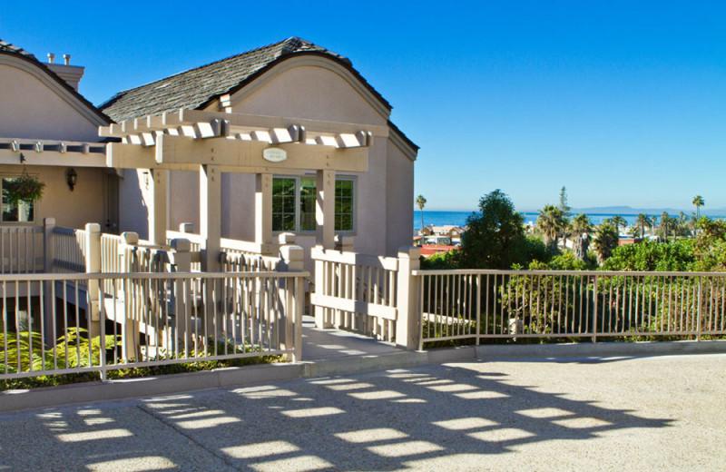Exterior of Units at the Villa L'Auberge