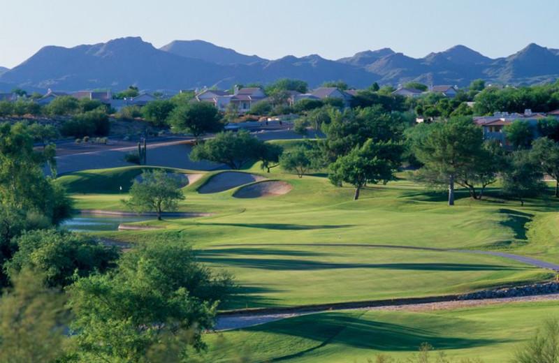 Golf course at Hilton Tucson El Conquistador Golf & Tennis Resort.
