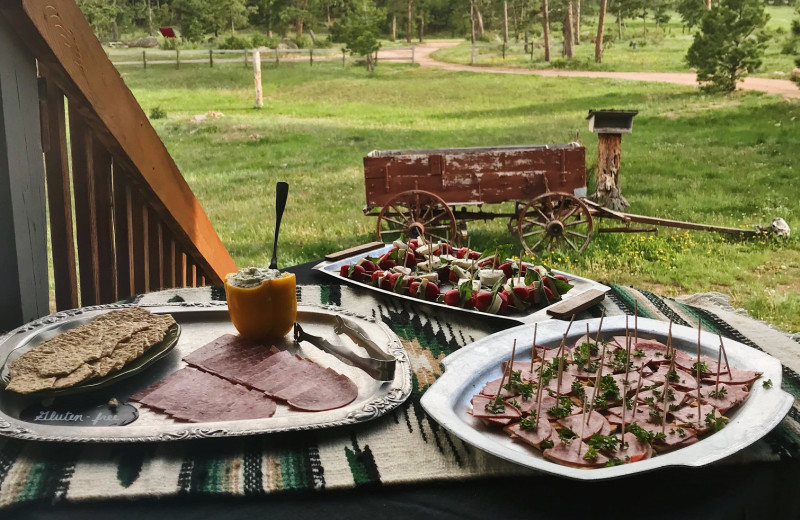 Dining at Sundance Trail Guest Ranch.