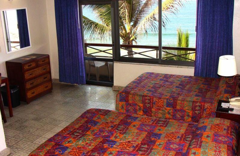 Guest room at Hotel La Siesta.