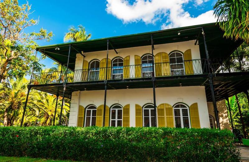 Ernest Hemingway House near The Banyan Resort.