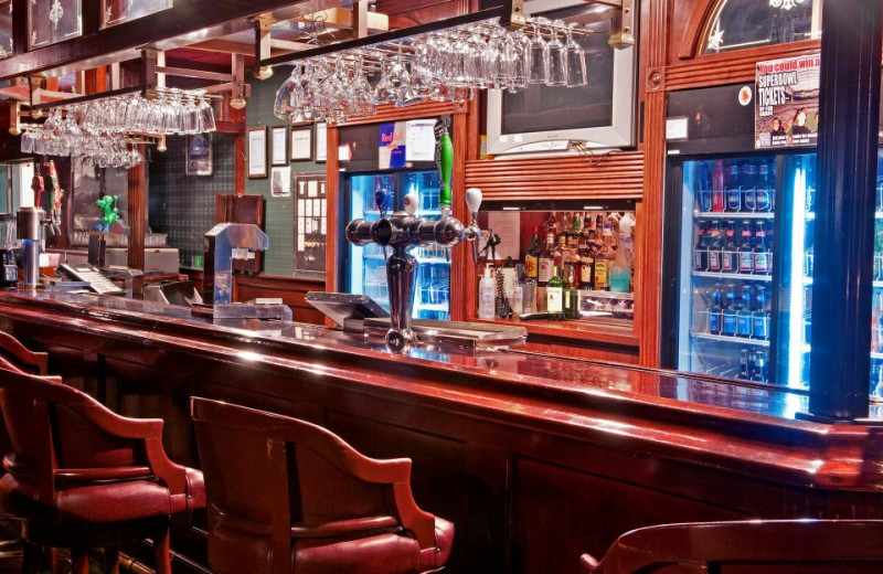 Hotel bar at Cairn Croft Best Western Plus Hotel.