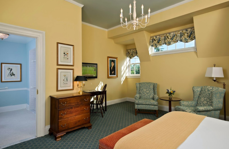 ADA accessible guest room at The Otesaga Resort Hotel.