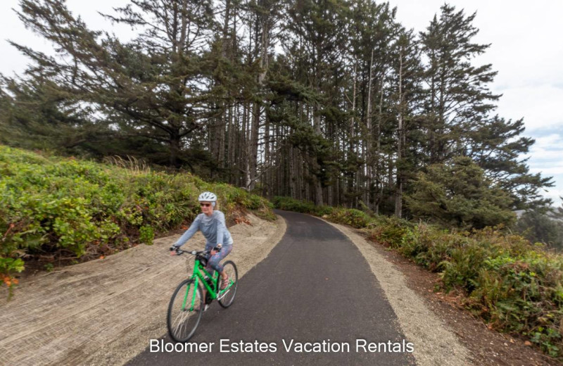 Biking near Bloomer Estates Vacation Rentals.