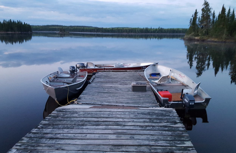 Dock at Wilderness Air.