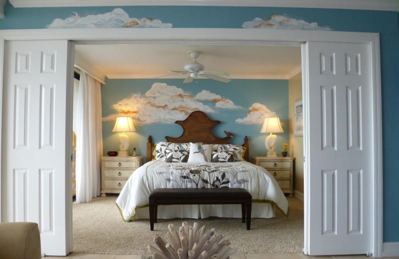 Guest room at Sanibel & Captiva Island Condos.